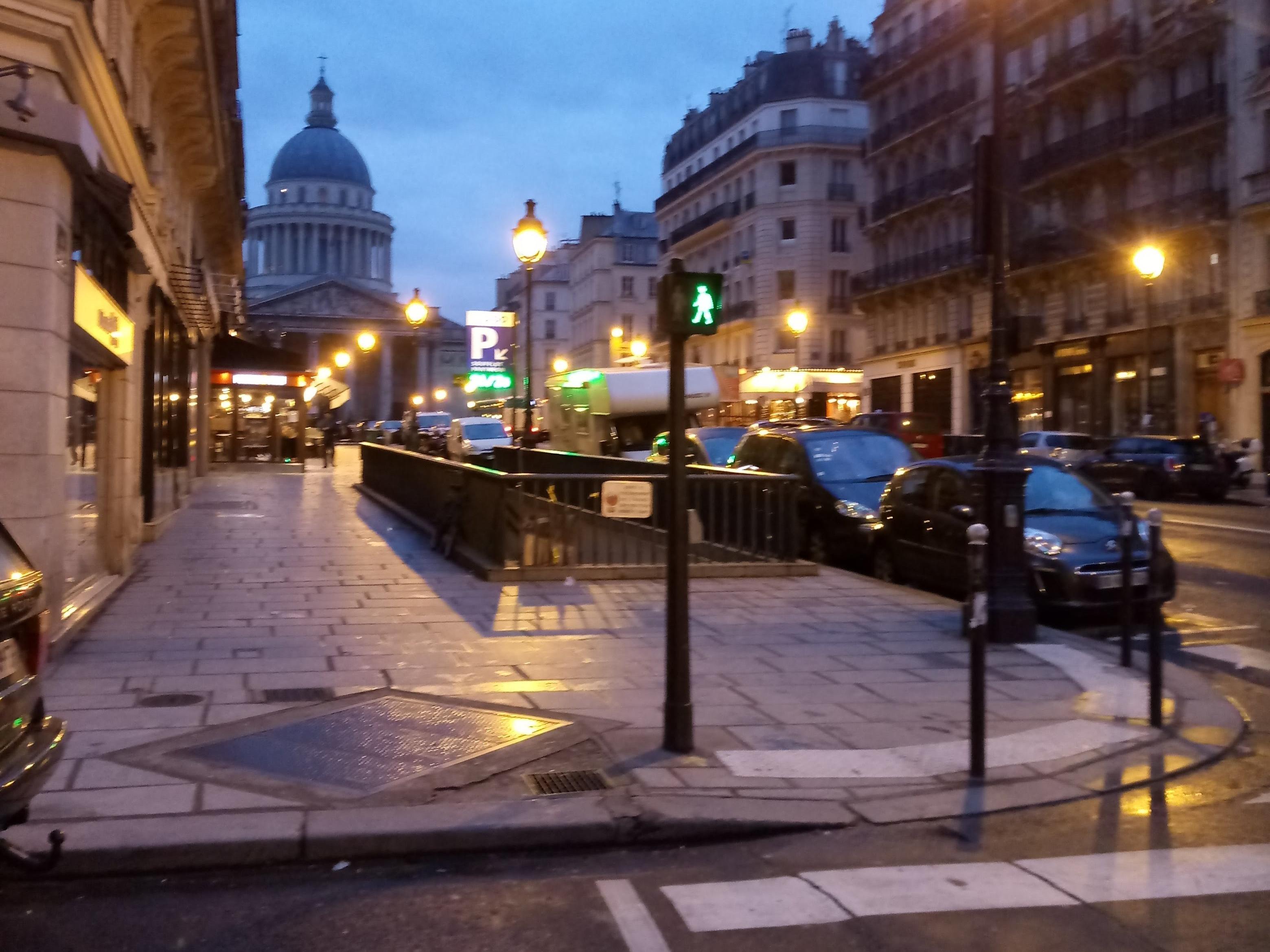 Pantheon lights